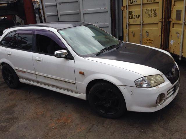 Mazda Familia BJFW Facelift